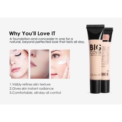 FOCALLURE Flawless Liquid Concealer Cover Cream FA31 - FA31-04 2
