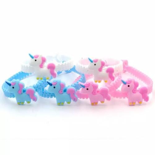 Foto Produk gelang anak / gelang unicorn anak / gelang lucu / gelang silikon - Unicorn dari unicorn squad id