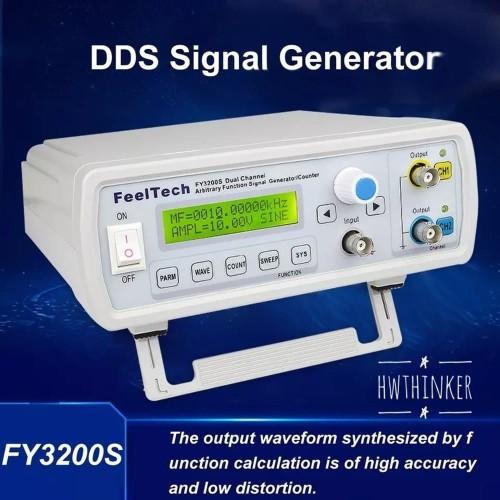 Foto Produk Signal Generator FeelTech FY3200S Dual Channel DDS Counter Function dari HRDIK