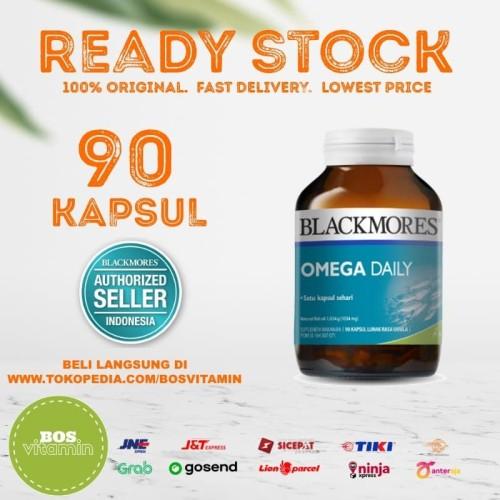 Foto Produk Blackmores Omega Daily BPOM Kalbe - 90 Kapsul dari Bos Vitamin