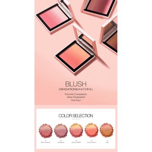 FOCALLURE 4 Colors Ombre Blush On Silky Cream Transparent Powder FA78 - FA78-03 5