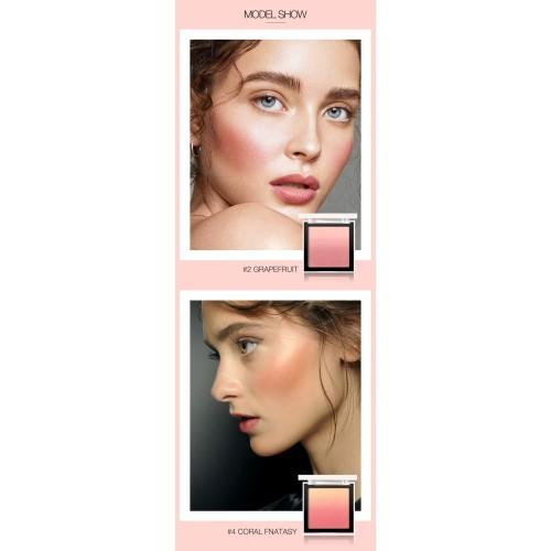 FOCALLURE 4 Colors Ombre Blush On Silky Cream Transparent Powder FA78 - FA78-03 3
