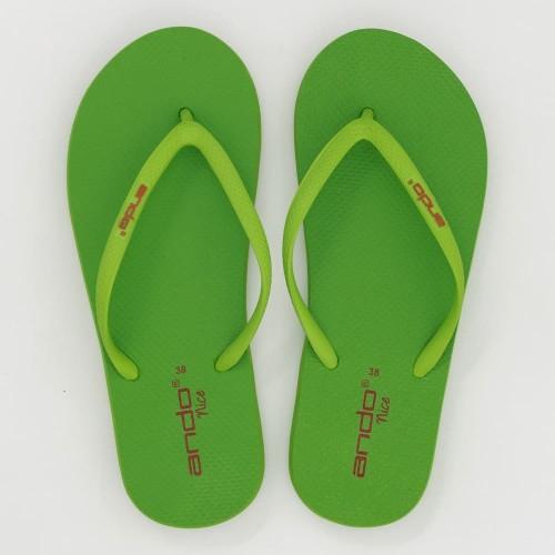 Foto Produk Ando Official Sandal Nice Wanita Dewasa - Hijau Neon - 37 dari Ando Official Store