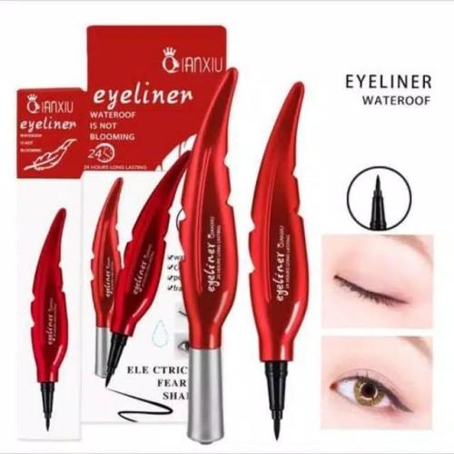 Foto Produk Eyeliner Daun QianXiu Original waterproof dari zailmun -shop