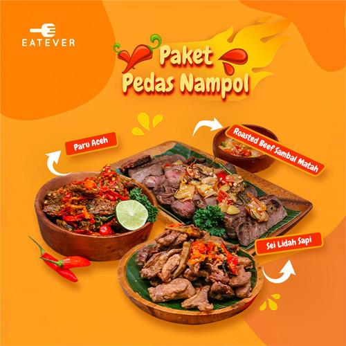 Foto Produk Eatever - Paket Pedas Nampol / Makanan Siap Saji dari Eatever