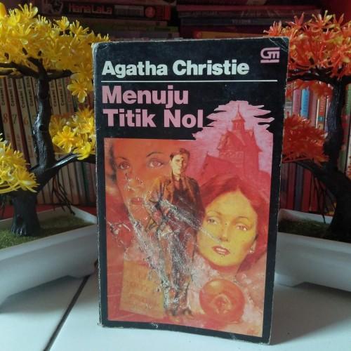 Foto Produk Novel Misteri Terjemahan Agatha Christie Menuju Titik Nol Towards Zero dari bandungcomic_shop