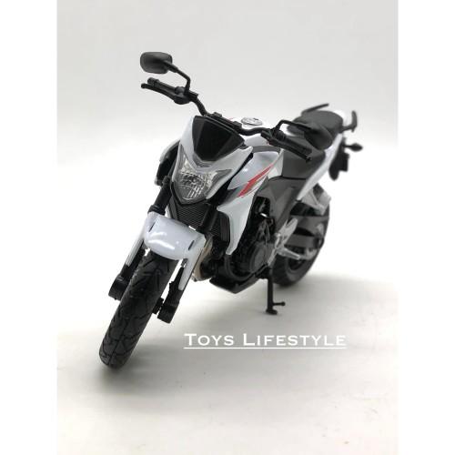 Foto Produk Welly Motor Diecast - Honda CB500F Skala 1:18 dari Toys Lifestyle