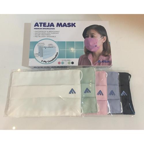 Foto Produk Ateja Mask - 3 ply (5 pcs) All Colors - All Colors dari Raraa Shops