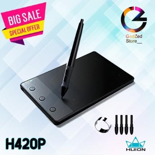 Jual Huion H420 Usb Animation Digitizer Graphics Drawing Table Wacom Tablet Jakarta Timur Gadzed Store Tokopedia