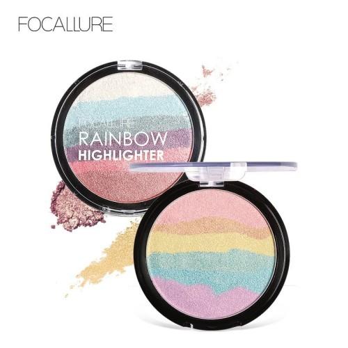 FOCALLURE RAINBOW HIGHLIGHTER Face contour women professional FA35 - FA35-01 1