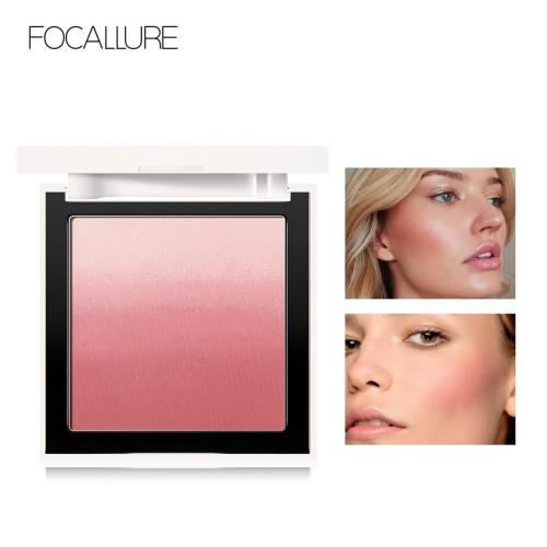 FOCALLURE 4 Colors Ombre Blush On Silky Cream Transparent Powder FA78 - FA78-03 1