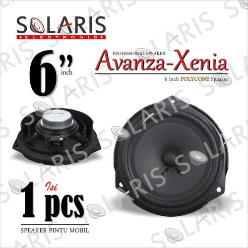 Foto Produk SPEAKER OEM 6 Inch STANDARD AVANZA-XENIA Speaker PINTU MOBIL dari Solaris Electronic