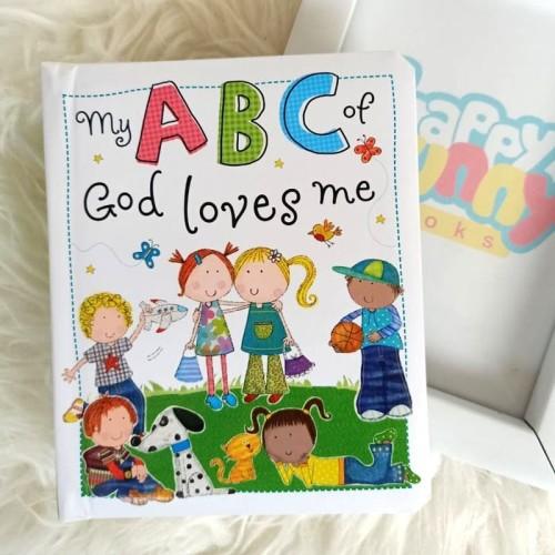 Foto Produk My ABC of God Loves Me Boardbook dari HappyBunnyBooks