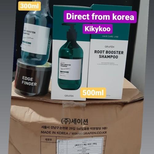 Foto Produk GRAFEN ROOT BOOSTER READY SHAMPOO 500ML HANDCARRY FROM KOREA - 300ml dari Kikykoo