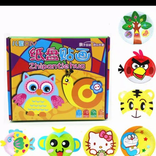 Foto Produk Mainan edukasi anak Menempel/menghias piring kertas jdi kartun dimensi dari AUTO KID II