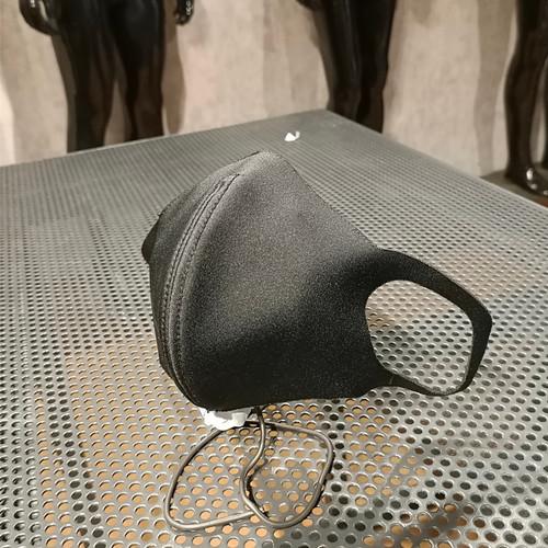 Foto Produk Masker Motor| Masker Premium | Masker Scuba Noxy | Scuba Gramasi 400gr - Hitam dari Satu Delapan