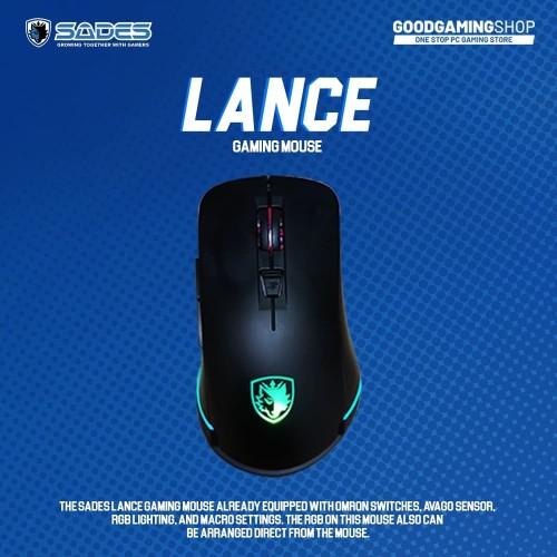 Foto Produk Sades Lance - Gaming Mouse dari GOODGAMINGM2M