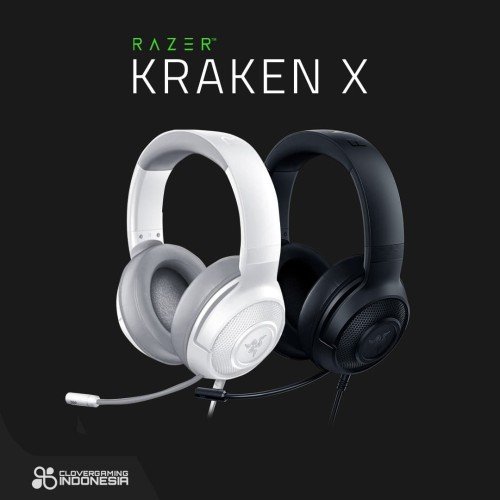 Foto Produk Razer Kraken X 7.1 Surround Sound - Gaming Headset - Hitam dari Clover Gaming Indonesia