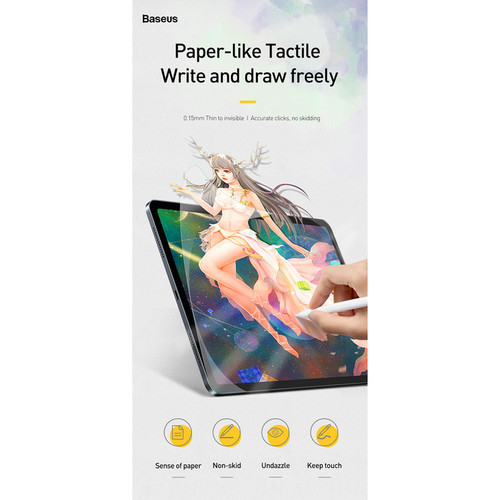 Foto Produk Baseus Screen Protector Paper Like Film iPad 7 2019 - 10.2 inch dari societyacc
