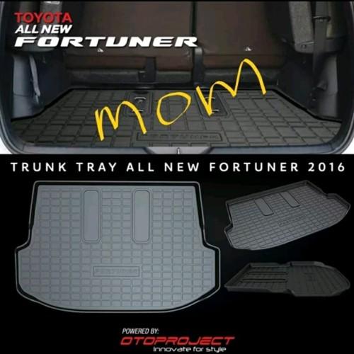 Foto Produk Trunk Tray / Karpet Bagasi / Tatakan Bagasi All New Fortuner Vrz dari Mega Oriental Motor