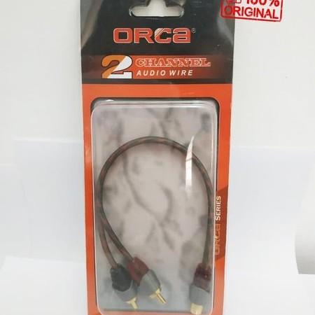 Foto Produk Hot Promo Kabel Rca 2 Male 1 Female - Orca dari reinastore915