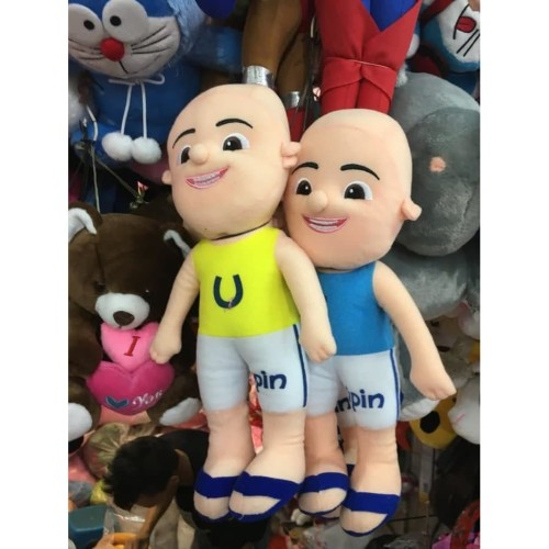 Foto Produk Boneka Upin dan Ipin sepasang harga 70ribu dari 43shop