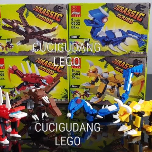 Foto Produk Lego Jurassic Dinosaurus Dino Naga Dragon Baru dari cucigudanglego