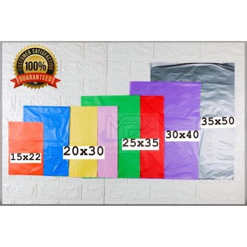 Foto Produk Kantong plastik HD tanpa plong 25x35 isi 100 lembar/ plastik packing - Merah Muda dari Motoplast