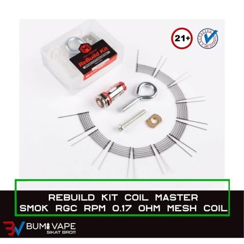 Foto Produk RBK for RPM RGC 0.17 Conical Mesh - Original by Coil Master dari bumivape