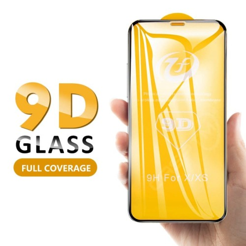 Foto Produk Tempered Glass Warna Full 5D Xiaomi Redmi Note 7 /Premium Curved - Hitam dari NYATACELL