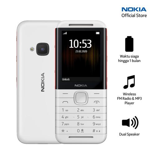Foto Produk Nokia 5310 (2020) - White/Red dari Nokia Mobile Official