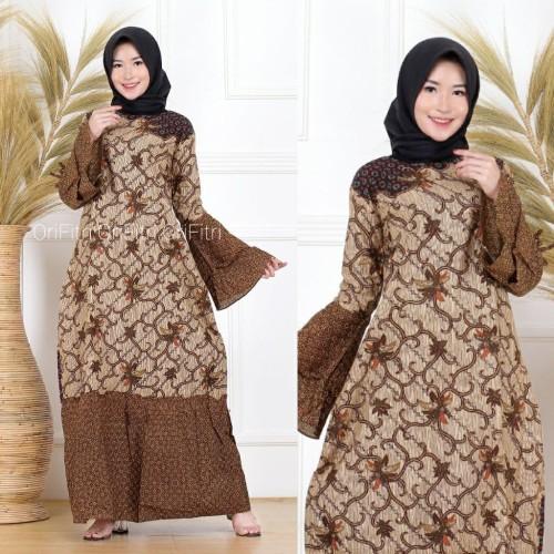 Jual Baju Gamis Batik Gamis Batik Modern Gamis Batik Pekalongan F3 1 Kota Pekalongan Batik Nailadiba Tokopedia