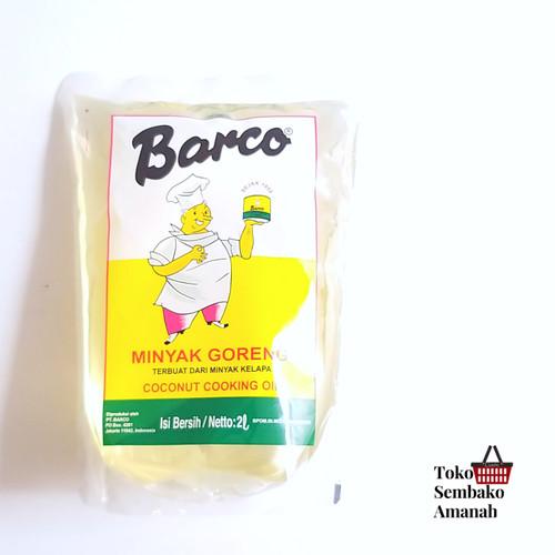 Foto Produk Barco 2liter / minyak kelapa Barco 2lt dari Sembako Amanah20