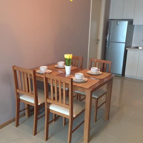 Foto Produk Meja Makan - Honey Brown dari J T H