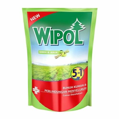 Foto Produk WIPOL Sereh dan Jeruk Pouch 750ml dari Arka Shop Family