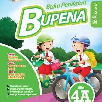 Jual Buku Bupena Kls 4 Sd Jilid 4a Penerbit Erlangga Kota Bandung Toko Buku Riavy Tokopedia