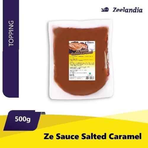 Foto Produk ZE SAUCE SALTED CARAMEL 500 GR dari Tangerang Distribusindo