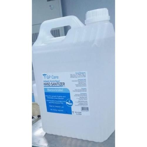 Foto Produk GP Care Cosmomed hand sanitizer alcohol based 5Liter 5L 5 liter dari Suplemen Fitness Murah