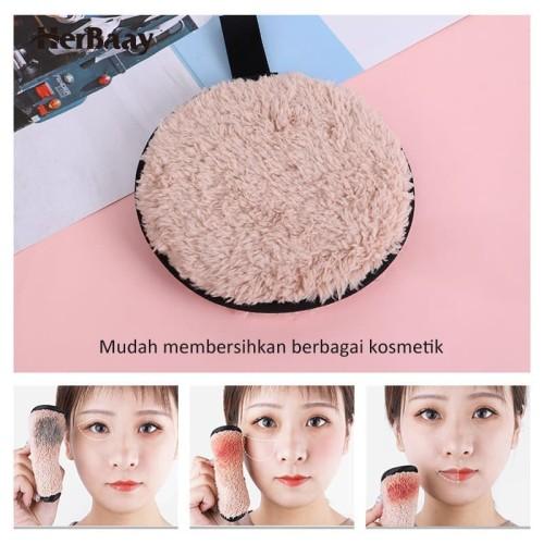 Herbaay Kapas Penghapus Makeup Remover Pad Reuseable - Hitam 3