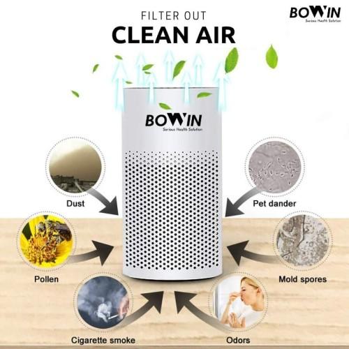 Foto Produk Bowin Air Purifier Oxy Mini – (3in1 True HEPA, ANION, Karbon Filter) dari Bowin Indonesia