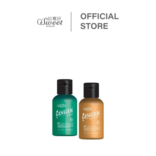 Foto Produk Ginger Series Travel Pack 60 ml dari O'Sweet Singapore Resmi
