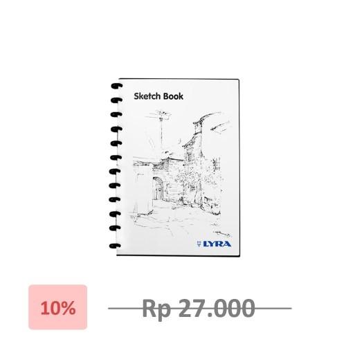 Foto Produk Lyra SketchBook A5 / Lyra Sketch Book Binder A5 - Terlaris - Termurah dari Artpedia Shop