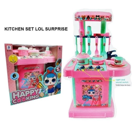 Foto Produk Mainan Masakan Kitchen Set LOl Surprise BP9632 dari ANEKA MAINAN ONLINE