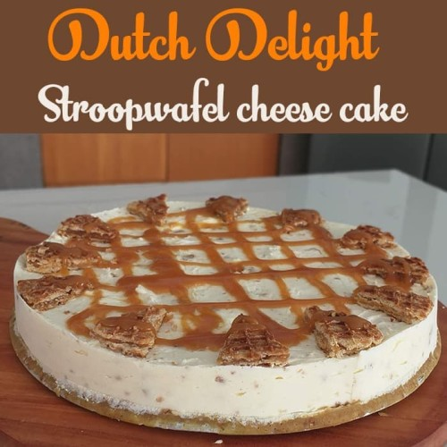Jual Stroopwafel Cheese Cake Strawberry Mulberry Topping Kue Keju Stroberi Stroopwafel Kab Badung Dutch Delight Indonesia Tokopedia