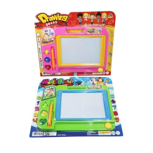Foto Produk Mainan Edukasi Anak - Magnetic Drawing Board Papan Tulis Magnet Murah dari EAZYTOYS