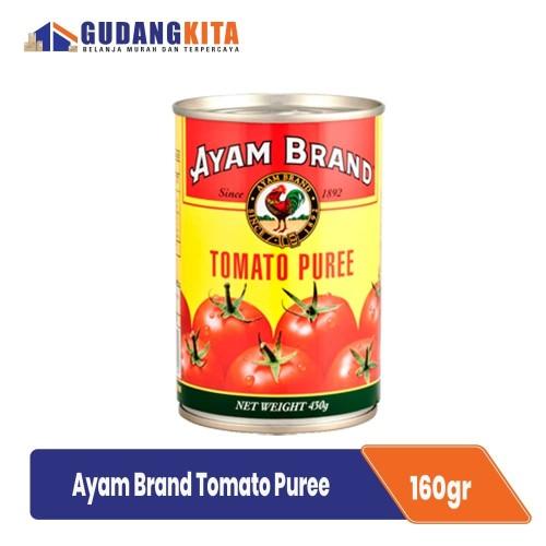 Foto Produk Ayam Brand Pasta Tomat 160g - Tomato Puree dari GUDANGKITA COM
