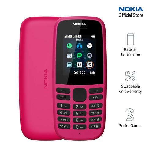 Foto Produk Nokia 105 – Pink dari Nokia Mobile Official