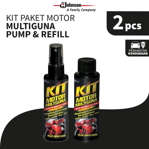 Foto Produk Kit Motor Multiguna Pump 100mL + Refill dari KIT Autocare