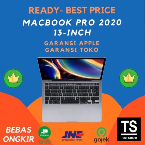"Foto Produk Macbook Pro 2020 13"" Touch Bar MXK32 MXK62 1.4GHz 4C i5 8GB 256GB - GRS APPLE INTER, SPACE GREY dari Tech Studio Indonesia"