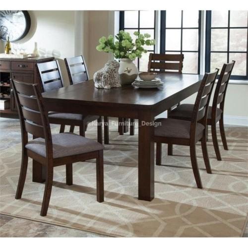 Jual 1 Set Meja Makan Minimalis Terbaru 6 Kursi Kayu Jati Modern Kab Jepara Karya Furniture Design Tokopedia